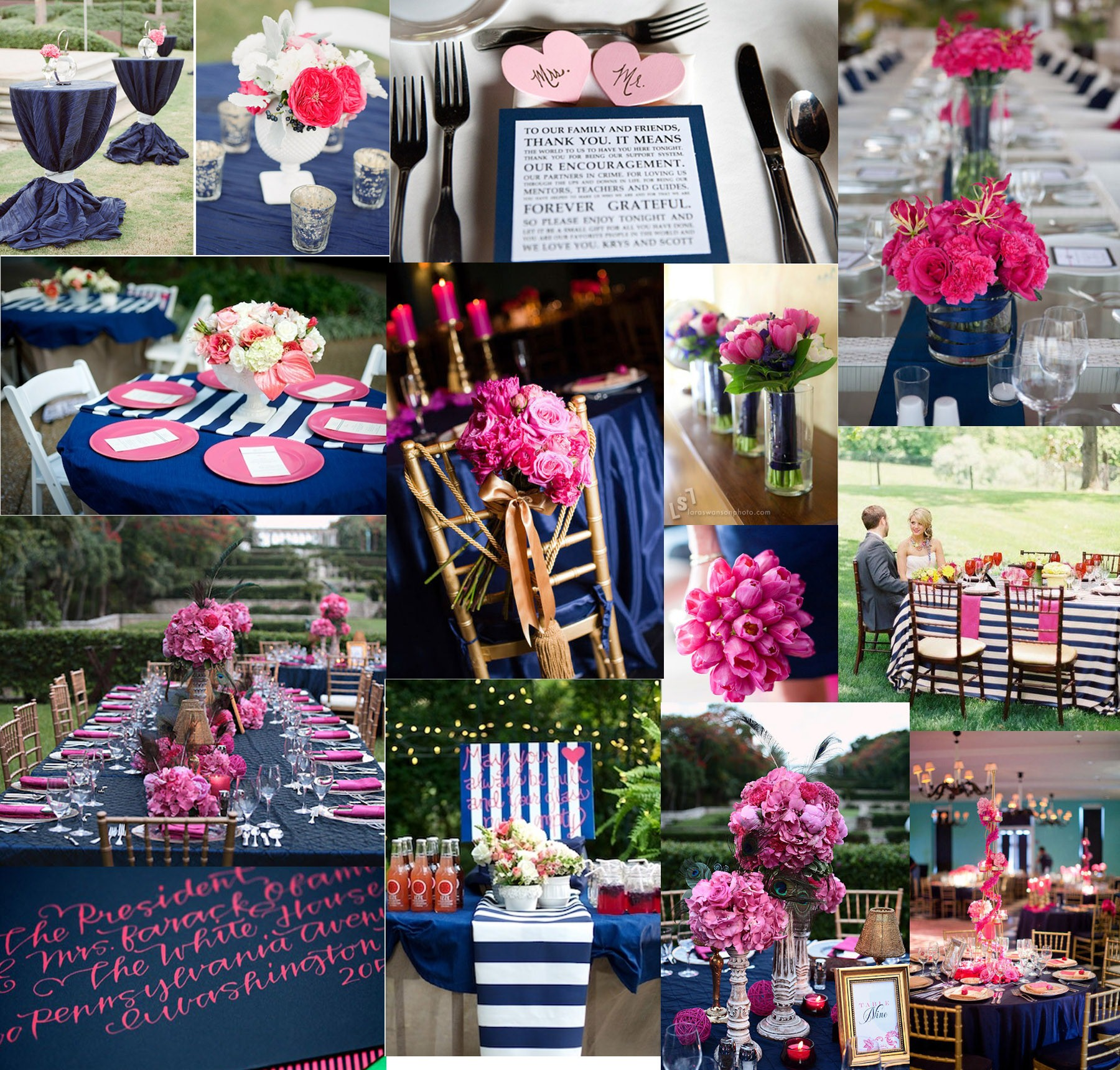85 best images about wedding on pinterest wedding hot pink weddings and navy blue weddings
