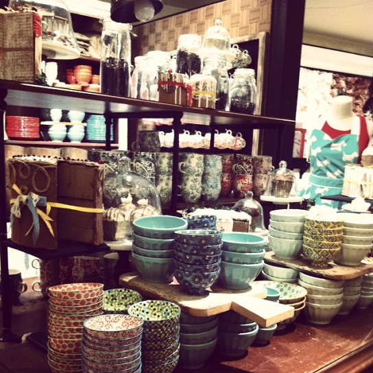 There Were So Many Great Colors And Cute And Somewhat Kitschy Items Aprons Bowls Mugs Plates Storage Containers Bedroom Decor Everything